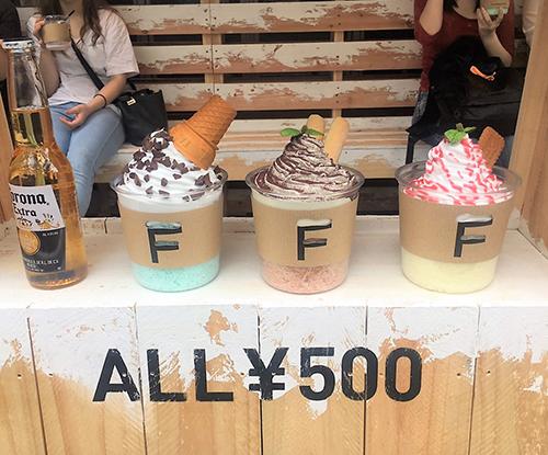 中目黒にオープンした「FUWAGORI」が今SNSで話題!ALL500円のふわふわ過ぎる新感覚かき氷を食べてきた♡