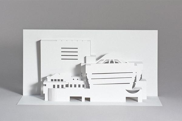 近代建築の巨匠フランク・ロイド・ライトのアイコニックな建物がDIYできるペーパークラフトブックがユニーク