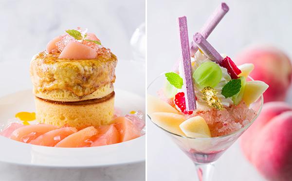 夏はやっぱり桃♡ホテル インターコンチネンタル 東京ベイの桃のパンケーキ&パフェが食べたい♩