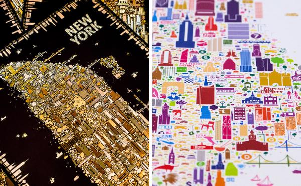 これ地図なの!?街の魅力を最大限に表現したニューヨークのマップがオシャレ♡