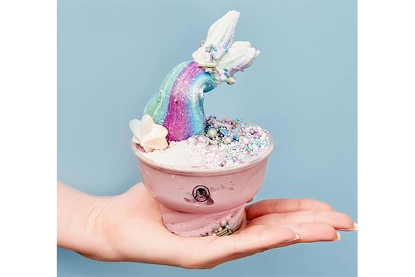 インスタ映え間違いなし!キュートなマーメイド・アイスクリームがフォトジェニック♡