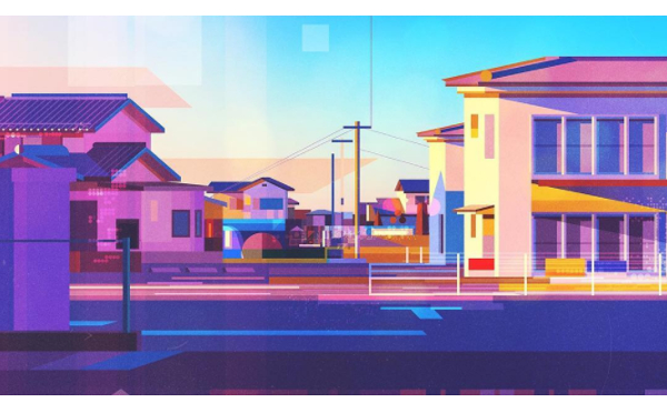 見慣れているはずなのにどこか新しい…外国人アーティストが描いた日本の風景が斬新!
