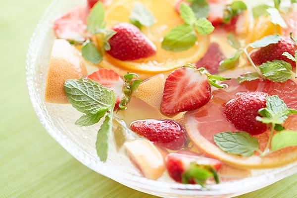 【リゾナーレ熱海】贅沢イチゴのカラフルポンチ