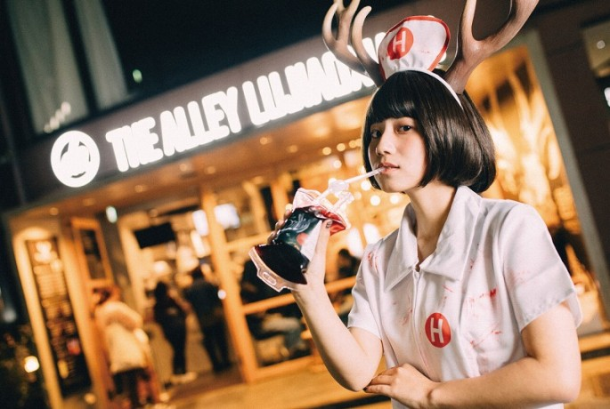 THE ALLEY_ツノガール