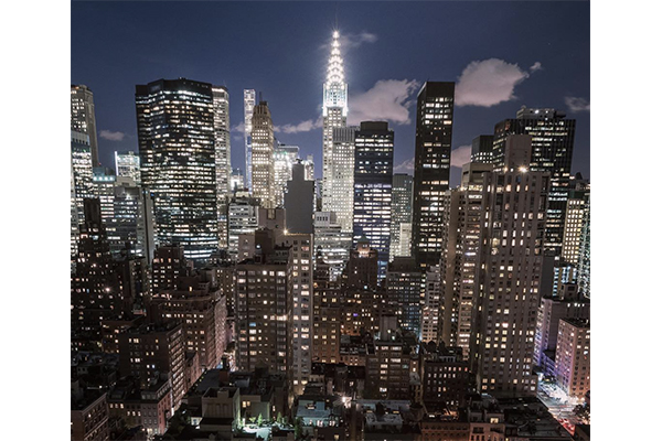 イルミネーションみたい♡ニューヨークの街の光がキラキラ点滅するタイムラプス動画が幻想的