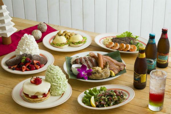 いちごショートみたいなパンケーキも♡「エッグスンシングス」今年のクリスマスメニューが気になる!