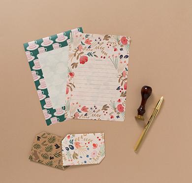 思わず手紙を書きたくなる♩パリ発人気文房具ブランドの紙を使ったレターブックが登場