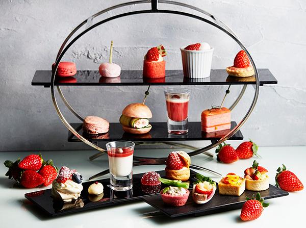 バトラー付き贅沢アフタヌーンティーも!ANAインターコンチネンタルホテル東京が苺づくしのフェアを開催