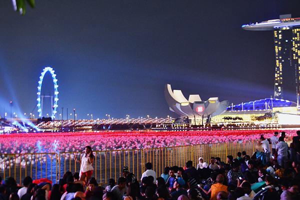 年越しの瞬間を海外で過ごす…♡ 打ち上げ花火が間近で見られるシンガポール女子旅プラン