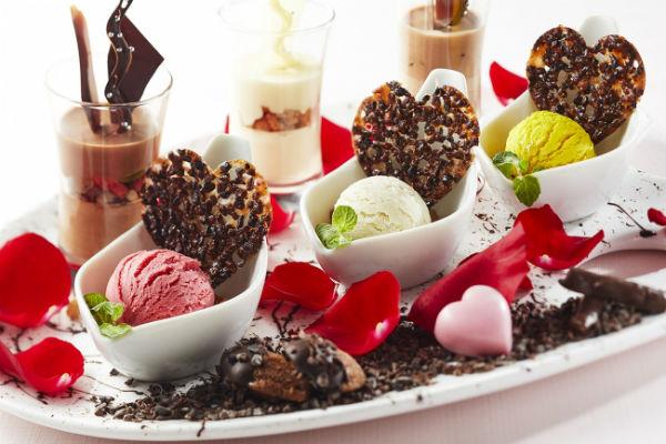 バレンタインまでの5日間限定♪赤坂エクセルホテル東急の「スイーツパレット」が華やか♡