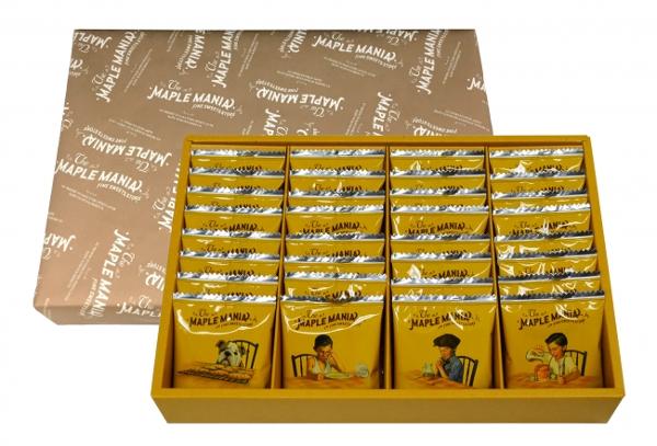 帰省土産の人気ナンバーワン!「メープルバタークッキー」の羽田空港限定パッケージが今日から発売