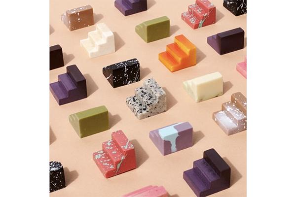 まるでオブジェのよう♡スタイリッシュなデザインのブロック型チョコレートがかわいすぎ!