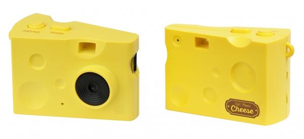 超小型なのに写真も動画も撮れちゃう♩チーズ型のトイデジタルカメラ「DSC Pieni Cheese」が今すぐ欲しい♡