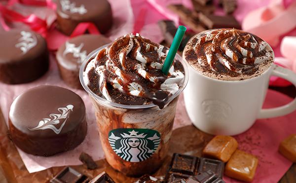 スタバにバレンタイン限定ドリンク&グッズが登場!チョコホリックを魅了するスイートな味わいにうっとり♡