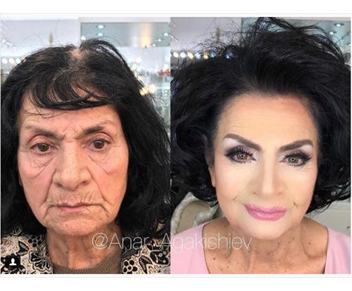 80歳のおばあちゃんが美しいマダムに大変身!化粧の力でひとを笑顔にするメイクアップアーティストが話題