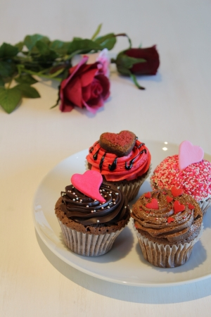 ロンドナー御用達のバレンタインギフト「ローラズ・カップケーキ東京」の限定アイテムが花束みたい♡
