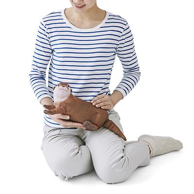 プニプニほっぺがたまらん♡小さな幸せをもたらしてくれるフェリシモのカワウソポーチ