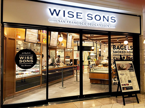 サンフランシスコの人気デリ「WISE SONS TOKYO」が丸ビルにオープン!本格ベーグルで気分は西海岸♡