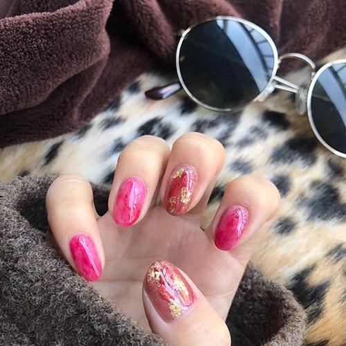 """2018年春は指先から透明感♡ ピンク・ブルー・個性派カラーの""""透け感ネイル""""デザイン"""
