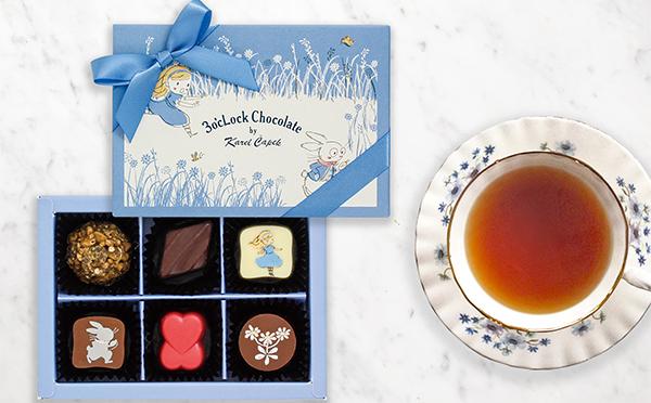 カレルチャペック紅茶店らしいメルヘンな可愛さ♡アリスや赤ずきんをモチーフにしたチョコが登場