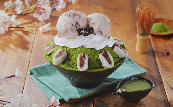 心が弾む桜フレーバーが春らしい♡ソルビンが日本限定「抹茶さくらソルビン」を発売