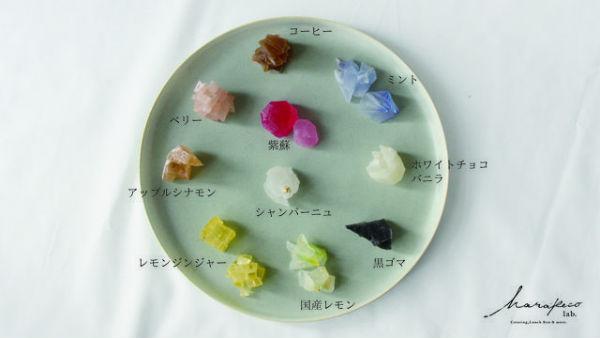 鉱石×和菓子がコラボした新感覚スイーツ!宝石みたいにキラキラの「こうぶつヲカシ」がステキ♡