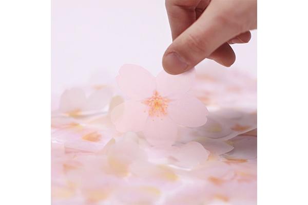 """かわいくって使うのがもったいない♡リアルなお花モチーフの""""ふせん""""に注目!"""