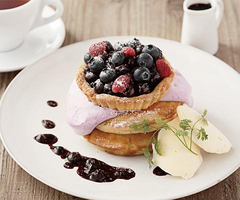 カフェ&ブックス ビブリオテークに焼菓子をアレンジしたオトナな贅沢デザートが登場♡