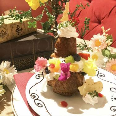 うさ耳&春色がキュート♡「美女と野獣カフェ&レストラン」のイースターメニューをチェック!