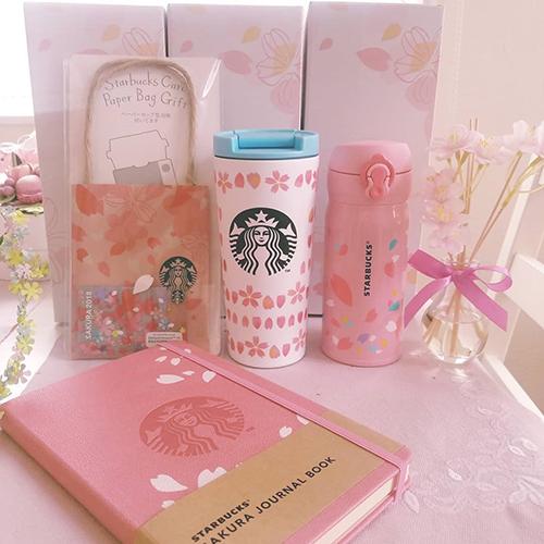 スタバで人気の桜グッズ第2弾♡みんなが購入した気になるアイテムをチェック!