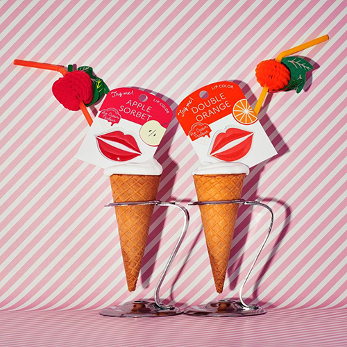 資生堂からポップな新コスメ「アイスクリームパーラー コスメティックス」が登場!カード型リップが気になる♡