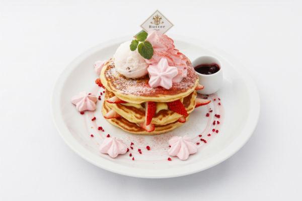 この時期だけの桜色にキュン♡パンケーキ専門店「バター」に春限定メニューがお目見え♪