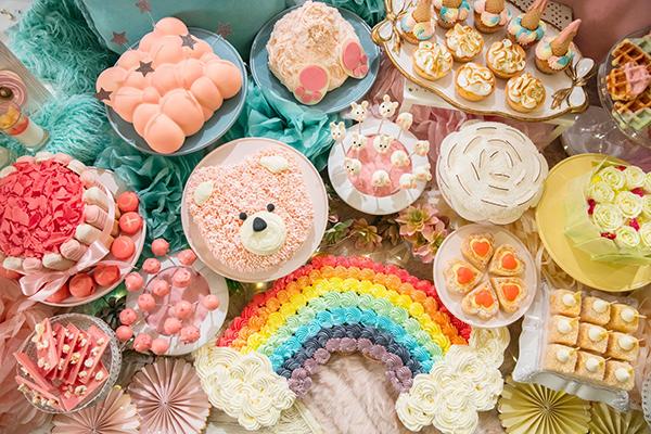 ゆめかわ度最高レベル♡ヒルトン東京お台場でパステルカラーに彩られたホムパ風デザートブッフェを開催