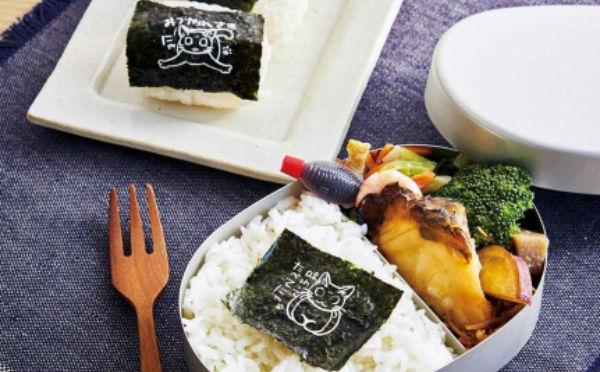 イラスト&メッセージにほっこり♡フェリシモ猫部「にゃんこまみれの海苔」でお弁当がキュートに変身!