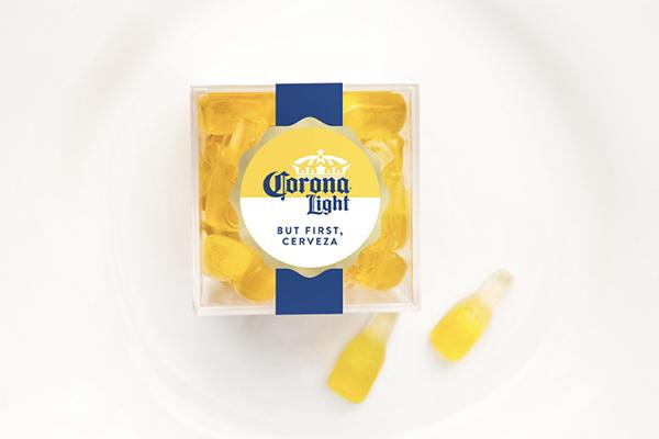 """夏にぴったり♩""""コロナビール""""のボトルをモチーフにしたグミがおいしそう♡"""