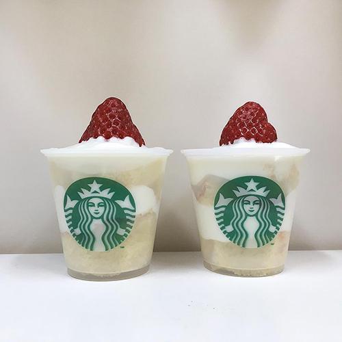 スタバの新作いちごは売り切ればかり?スタバのカップで作る、アレンジスイーツ集♡