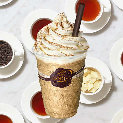 ゴディバのショコリキサーに新作が登場!ホワイトチョコとアールグレイの味わいでほっとやすらぐひとときを♩