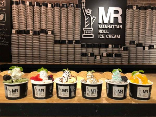 原宿で人気の新感覚スイーツ「マンハッタンロールアイスクリーム」がついに名古屋へ初進出!