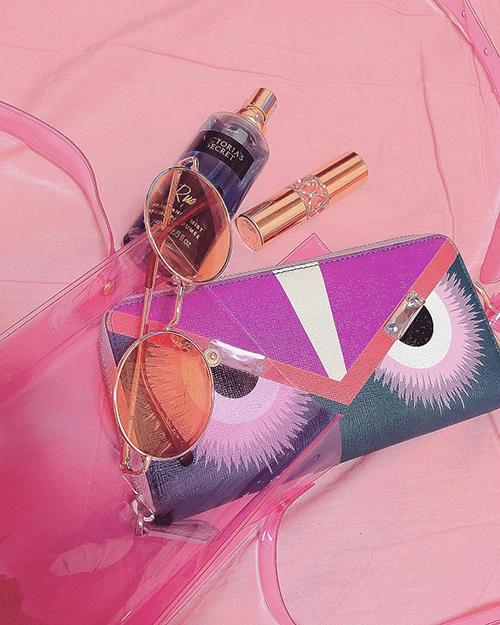 """この夏、大活躍の予感♡ ViVi 7月号の付録""""ピンククリアなショルダーバッグ""""が超使える"""