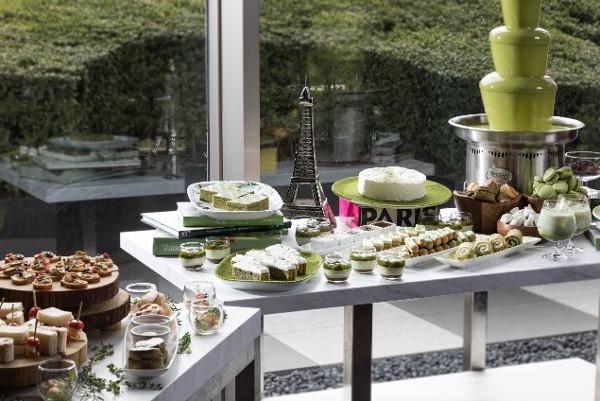 宇治抹茶を贅沢に使った大人のフレンチ アフタヌーンティーがグランドハイアットで開催!