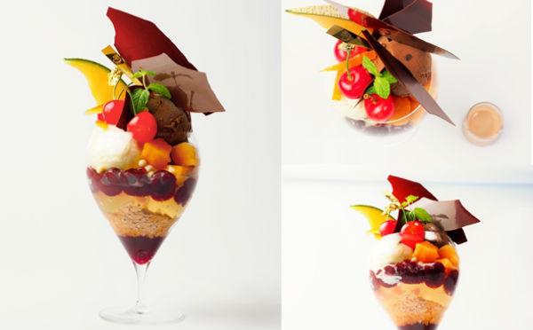 ミッドタウン日比谷店限定!パティスリー&カフェ デリーモの大人贅沢なパフェに新作が登場♩