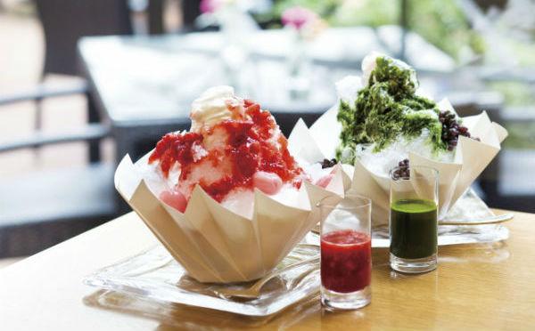 ふわふわ天然氷×練乳エスプーマ♪ヨックモック青山本店「オトナのかき氷」が今年もスタート!