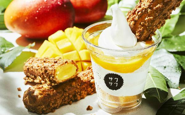 クリームもマンゴー味に♡クロッカンシューザクザクの新作シュー&パフェが夏季限定で登場!