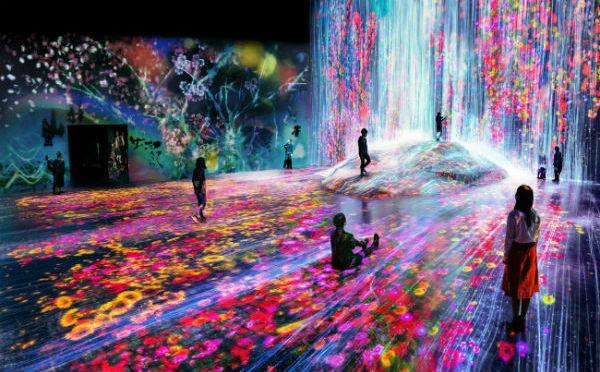巨大空間で体感するデジタルアートミュージアム。お台場に「チームラボ ボーダレス」が誕生!