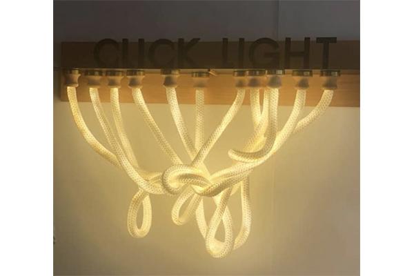 魔法みたい…!発光するロープの照明でお部屋のインテリアをグレードアップ♩