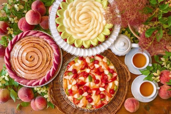 7月の「キル フェ ボン」はピーチづくし♡初開催「桃の試食会」の応募受付もスタート!