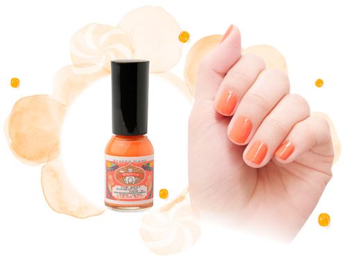 爪に優しい水性マニキュア「胡粉ネイル」。ポップなカラーで人気の夏限定「あめちゃん」シリーズが今年も登場♡