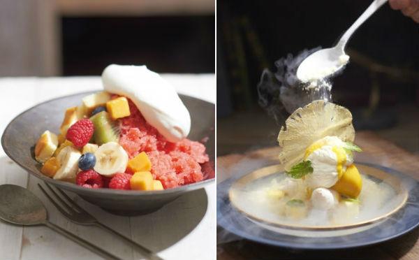 新感覚かき氷&凍るほど冷たいパフェ!キハチカフェ店舗限定、ひんやり夏スイーツをチェック♩