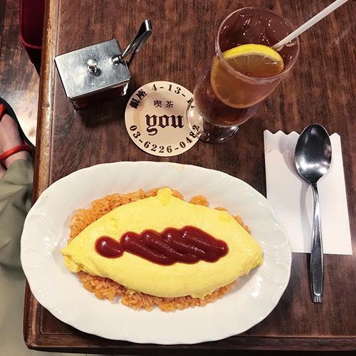 あなたはふわふわ派?包む派?お気に入りのオムライスが見つかる、おすすめカフェ4つ〜私のお散歩旅〜