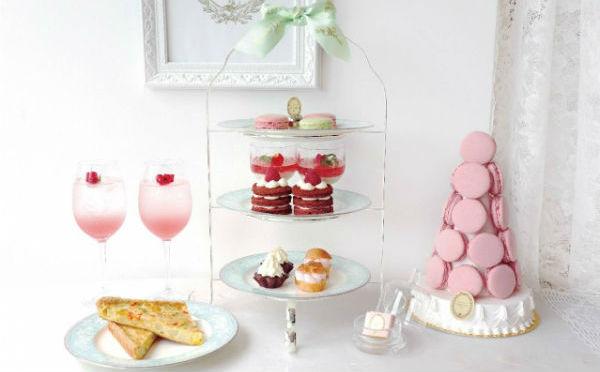 ラデュレのマカロンがアフタヌーンティーに♡「Café de Rose」に特別メニューが登場